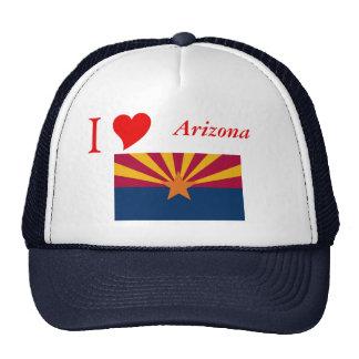 Arizona State Flag Mesh Hats