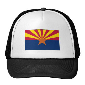 Arizona State Flag Hats