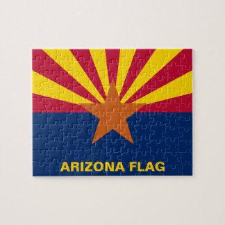 Arizona State Flag Jigsaw Puzzle