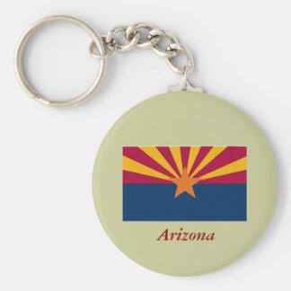 Arizona State Flag Key Chain