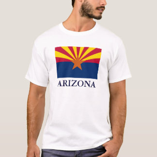 Arizona State Flag Mens T-shirt