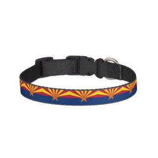 Arizona State Flag Pet Collar
