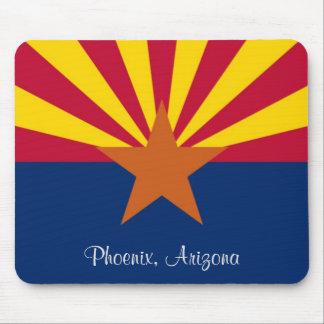 Arizona State Flag Phoenix Mouse Pad