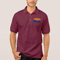 Arizona State Flag Polo Shirt