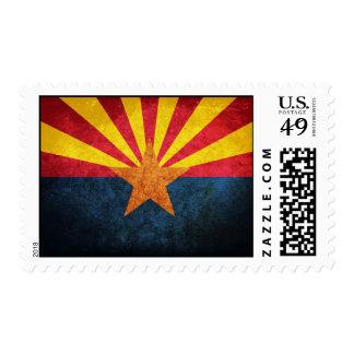 Arizona State Flag Postage