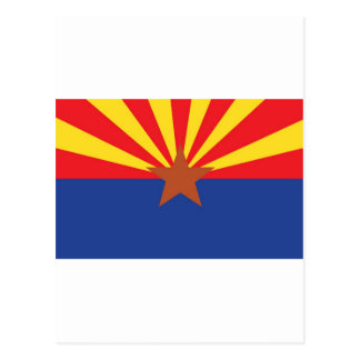Arizona State Flag Postcard