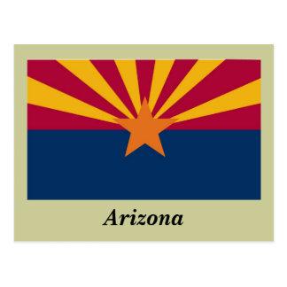 Arizona State Flag Postcard