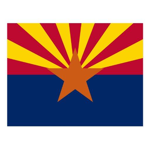 Arizona State Flag Postcards