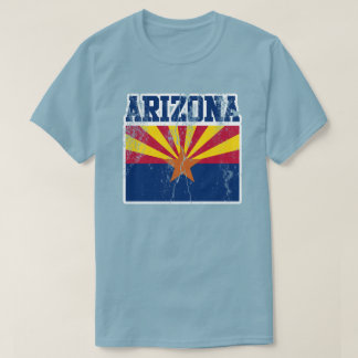 Arizona State Flag T-Shirt (Distressed)