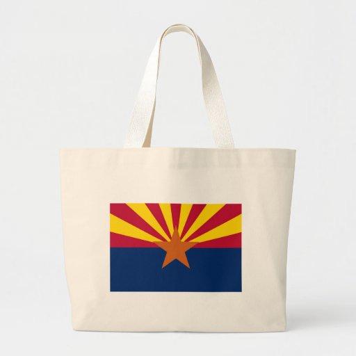 Arizona State Flag Tote Bag