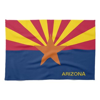 Arizona State Flag Towels