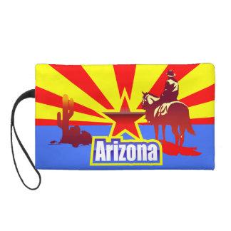 Arizona State Flag Vintage Drawing Wristlets