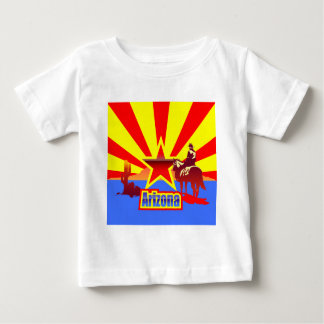 Arizona State Flag Vintage Drawing Infant T-shirt