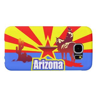 Arizona State Flag Vintage Drawing Samsung Galaxy S6 Case