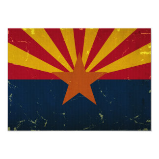 Arizona State Flag VINTAGE.png Card