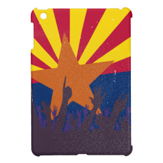 Arizona State Flag with Audience iPad Mini Cases