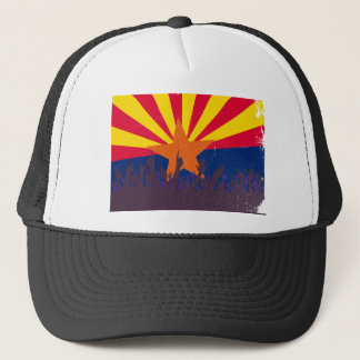 Arizona State Flag with Audience Trucker Hat