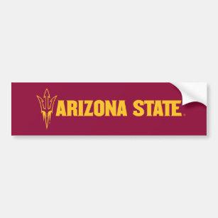 Arizona State Fork Bumper Sticker
