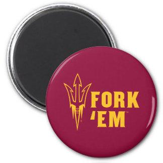 Arizona State Fork 'Em Magnet