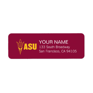 Arizona State Fork Label