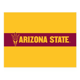 Arizona State Fork Postcard
