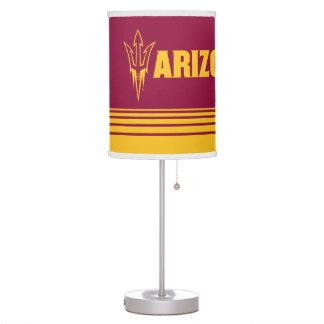 Arizona State Fork | Stripes Table Lamp