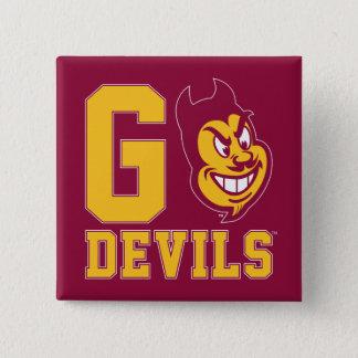 Arizona State Go Devils Button