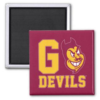 Arizona State Go Devils Magnet