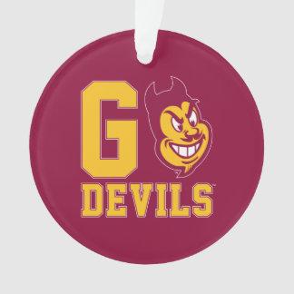 Arizona State Go Devils Ornament