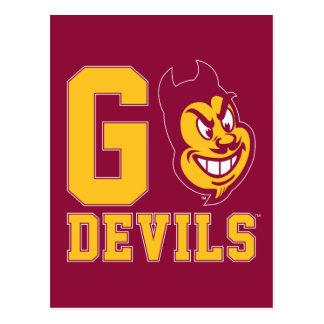 Arizona State Go Devils Postcard
