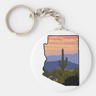 Arizona State Keychain