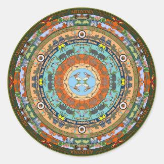 Arizona State Mandala Sticker