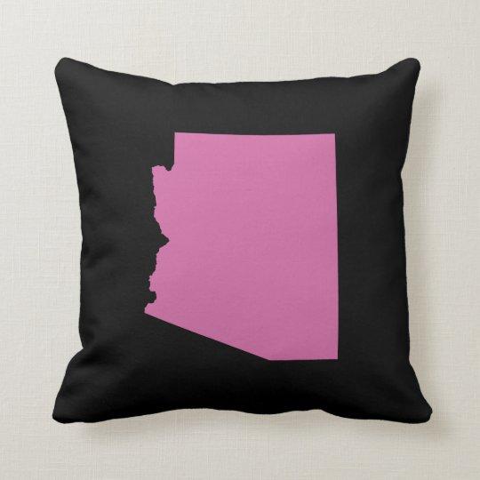 Arizona State Outline Throw Pillow