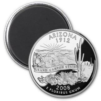 Arizona State Quarter Magnet
