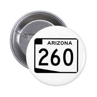 Arizona State Route 260 Button