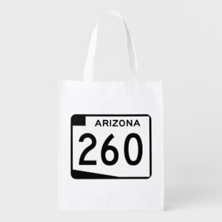 Arizona State Route 260 Reusable Grocery Bag
