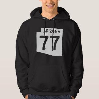 Arizona State Route 77 Hoodie