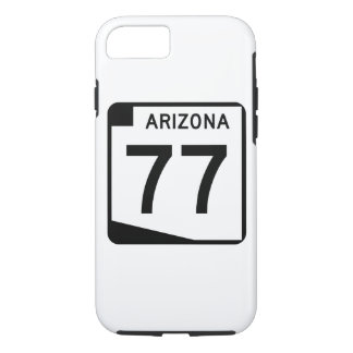 Arizona State Route 77 iPhone 7 Case