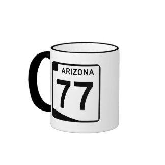 Arizona State Route 77 Ringer Mug