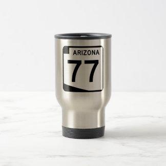 Arizona State Route 77 Travel Mug