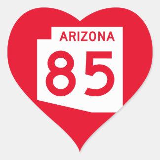 Arizona State Route 85 Heart Sticker