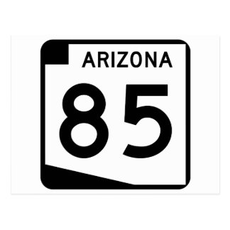 Arizona State Route 85 Postcard