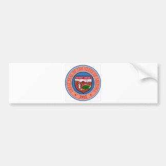 Arizona State Seal Bumper Sticker
