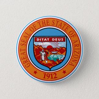 Arizona State Seal Button