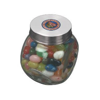 Arizona State Seal Glass Candy Jar