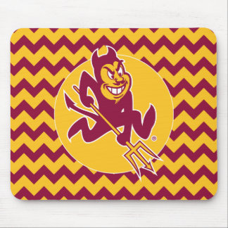 Arizona State Sparky | Chevron Pattern Mouse Pad
