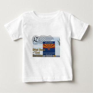 ARIZONA STATE STAMP MOTTO AZ BABY T-Shirt