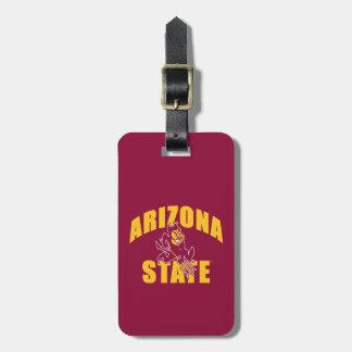Arizona State Sun Devil Bag Tag