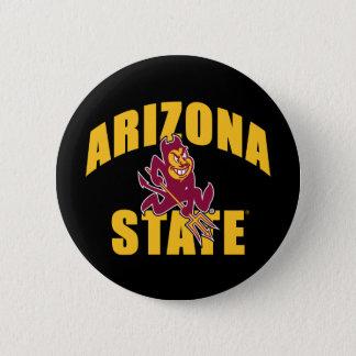 Arizona State Sun Devil Button