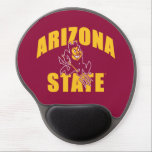 "Arizona State Sun Devil Gel Mouse Pad<br><div class=""desc"">Check out these new Arizona State University designs! Show off your ASU Sun Devil pride with these new Arizona State products. These make perfect gifts for the Sun Devils student, alumni, family, friend or fan in your life. All of these Zazzle products are customizable with your name, class year, or...</div>"